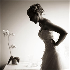kasia (gosia janik) Tags: wedding light orchid sepia bride boda preparing novia obramaestra