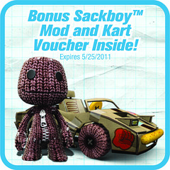 ModNation Racers with Sackboy bonus Mod