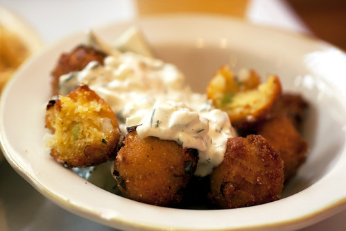 hush puppies @ pies-n-thighs