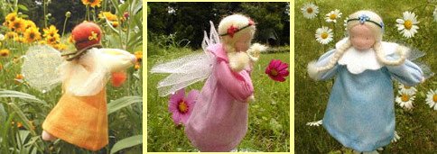 Waldorf Flower Fairy Dolls