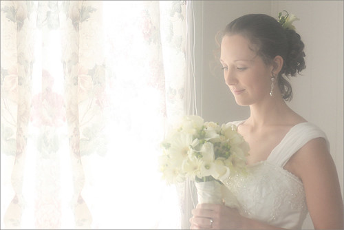 Bridal portrait  - window light / windowlight Portrait / bride / bridal / portrait / bride / - Katherine - IMG_0312-2-1000 by Bahman Farzad
