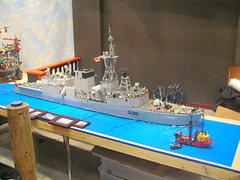 lego hmcs winnipeg overview (Soundwave_sw) Tags: museum winnipeg lego pirates navy canadian surrey class somali halifax frigate 2010 hmcs hmcswinnipeg