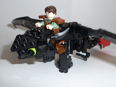 Hiccup and Toothless (Stormbringer.) Tags: dragon lego viking toothless hiccup howtotrainyourdragon nightfury