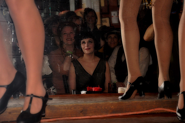Minsky Legs and spectators