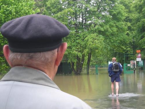 4 Zakole Wisly po powodzi
