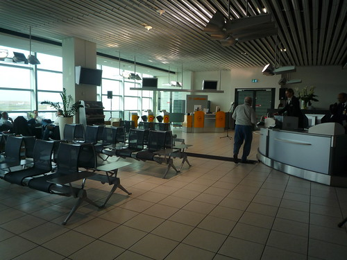 Gate Boarding Area From Lounge