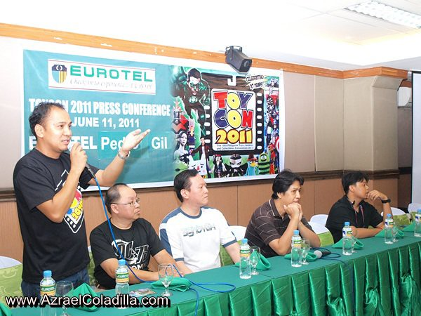 10th TOYCON Presscon (Photo by Azrael Coladilla)