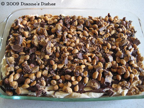 Chocolate Peanut Butter Mousse Bars: Ready to Slice