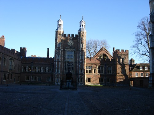 Eton college centre court yard
