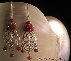 Starlite Jewelry Designs ~ Ruby Earrings ~ Handmade Fashion Jewelry (Naomi King) Tags: fashion indy jewelry indie fashionjewelry jewelrydesign gemstonejewelry indiedesigner indiefashion jewelrydesigner indiedesign indydesign starlitejewelrydesigns designerfashionjewelry indyfashionjewelry indyjewelry indiejewelrydesigns indiefashionaccessories fashionjewelrydesigner