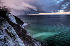 Dramatic Dusk at Rgen, Germany (Xindaan) Tags: ocean sea sky mer storm nature water beautiful beauty clouds germany landscape geotagged island deutschland evening abend nationalpark nikon meer wasser waves angle dusk natur wide dramatic himmel wolken balticsea baltic tokina insel dmmerung peninsula rgen landschaft ostsee 2009 soe ruegen hdr 116 oceano wellen knigsstuhl sturm  d300 ocan ocano kreidefelsen sassnitz naturesfinest chalkcliff 3xp rugen photomatix 1116 chalkcliffs jasmund dramatisch nationalparkjasmund flickrsbest abigfave platinumphoto flickrenvy infinestyle 1116mm fbdg tokina1116 1116mmf28 281116 lasttopphotography lastfinestyle