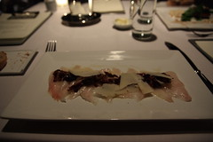 crudo of sablefish