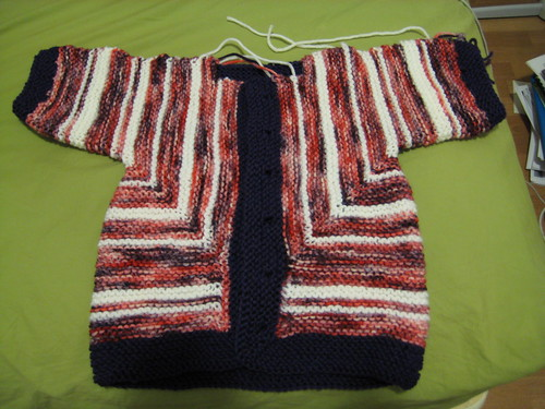 surprise--it's a baby jacket!