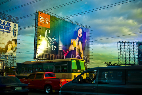 Entering Metro Manila