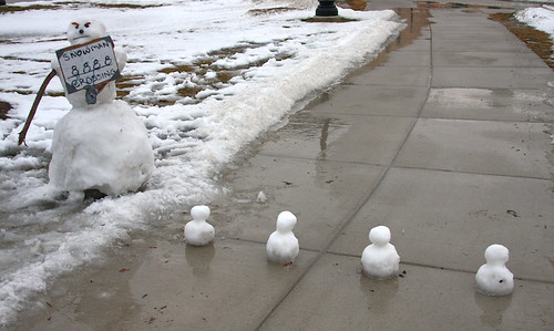 Snowmen Crossing
