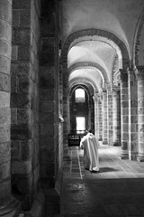 The monk (Cristiana Gobel) Tags: france monk montsaintmichel florin cristianavasile