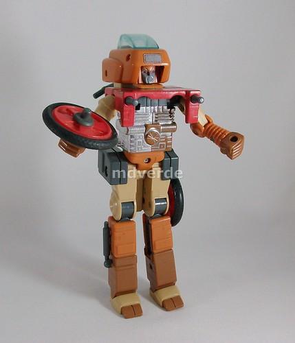 Transformers Wreck-Gar G1 - modo robot (by mdverde)