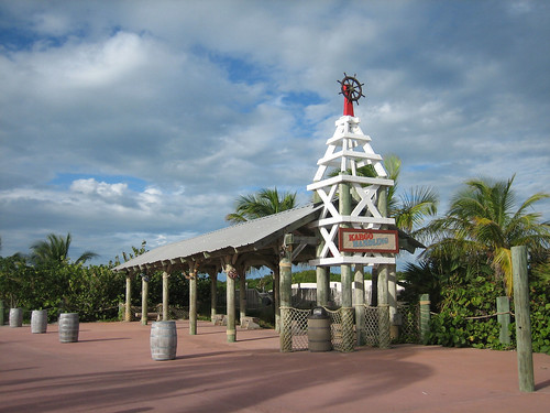 Castaway Cay - Island Trams 01