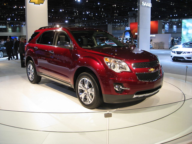 auto show chicago chevrolet 2009 equinox