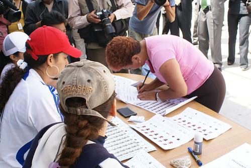 Votación Mujeresm Carcel