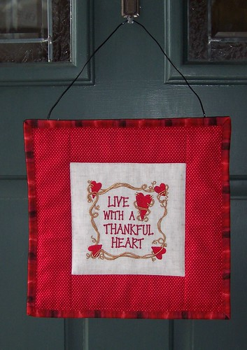 Thankful Heart Banner