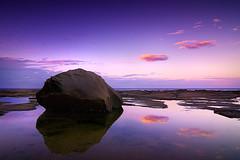 Avoca Reflections (Donald Y) Tags: sunset centralcoast avocabeach cokinnd8 nikond300 tokina1116
