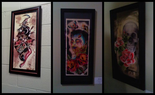 The St. Valentine's Day Massacre Art Show @ Blue Flame Tattoo in Raleigh