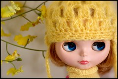 Zoe in yellow