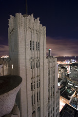 Pacific Telephone Building, San Francisco (TunnelBug) Tags: sanfrancisco nightphotography artdeco neogothic historicbuilding