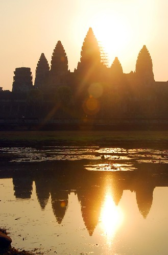 angkor wat for sunrise