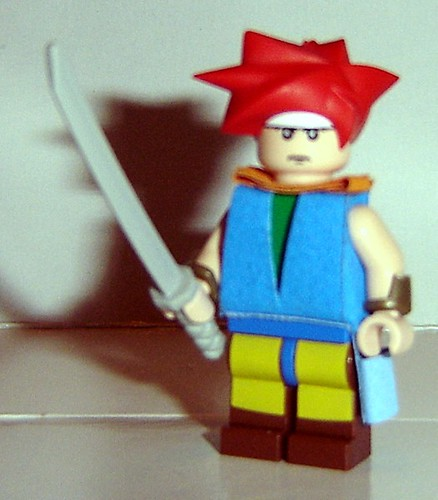 Chrono custom minifig
