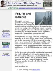 My blog circa 1997