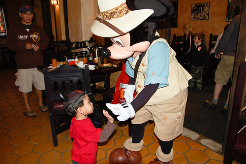A Mickey Hi-Five