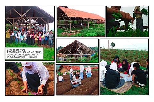 pembangunan smk pertanian sarimukti