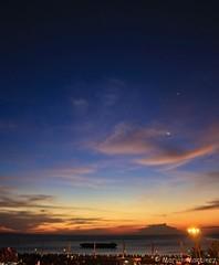 (marvvvn) Tags: sunset moa mallofasia