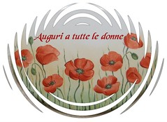 Auguri a tutte le donne! (ekaterinant2) Tags: flowers nature colors ceramics arte paintings natura sensational fiori colori papaveri quadri dipinti ceramiche porcellana  bej  flickrdiamond citrit theunforgettablepictures overtheexcellence  goldstaraward rubyphotographer visualar