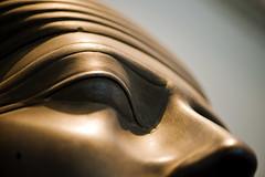 Sasobek (almonkey) Tags: detail macro eye face closeup nose ancient nikon bokeh egypt carving depthoffield sarcophagus deathmask siltstone sasobek d700 105mmvrmicro
