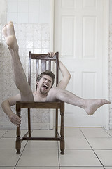 The Chair (Bobshaw) Tags: portrait photoshop self chair invisible creative surreal impossible