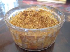 Crumble banane - pommes (joellehellenique) Tags: banane crumble pomme