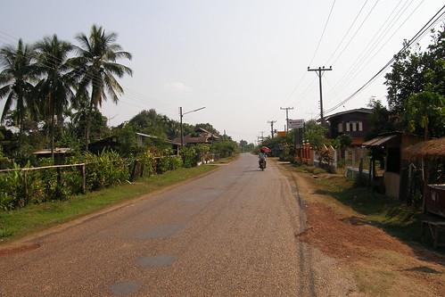 42.Champasak的農村風光