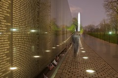 Ghosts of Vietnam (jpaulus) Tags: longexposure washingtondc dc ghost vietnam vietnammemorial veterans d90 rememberflickr