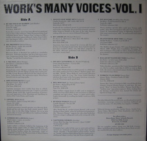 Work's Many Voices by you.
