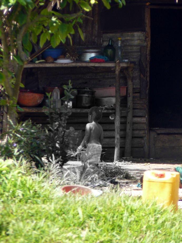 Vanuatu : Ile de Tanna #77: enfant
