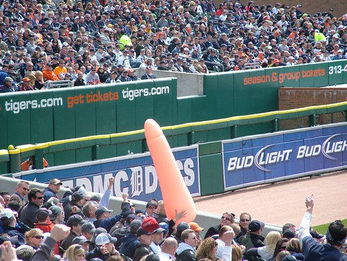 giant penis in comerica2