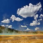 A Steam Devil Cyclone at Yellowstone!