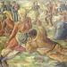 """""""Muiñeira"""" (Año 1948) Oleo sobre tela realizado por Luis Seoane López. El mismo pertenece al Centro Gallego de Buenos Aires, Argentina."""