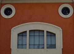 altro angolo, altro ritratto - another angle, another portrait (sharkoman) Tags: strange pareidolia finestra palazzo sharkoman