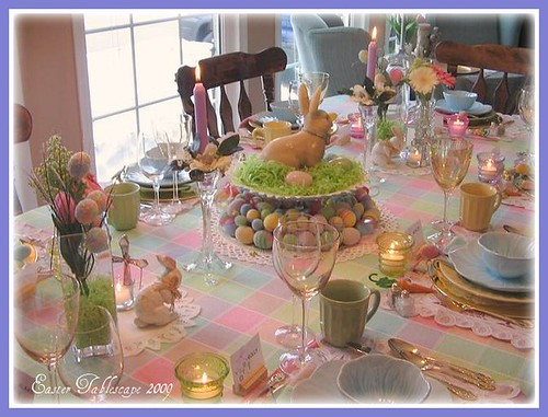 Easter On Pinterest Eggs Table And Tablescapes