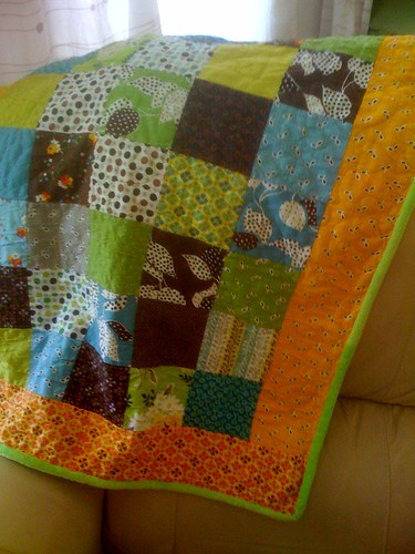 Minky Newborn Blanket for 3.0 Girl