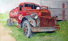 Texaco tanker (jthomasart67) Tags: old red art pencil truck 1936 vintage watercolor painting sketch drawing paintings rusty drawings chevy rusted watercolour vehicle rusting draw acuarela watercolors texaco sketches tanker vintagetruck oldchevytruck aquarella rustyoldtruck iloveyourart artistshub concordians texacotanker watercolorofantiquetruck watercolorofrustyoldtruck watercolorofantiquerustytruck watercolorofoldrustytruck watercolorofantiquerustytrucks oldrustychevytruck oldrustyredchevytruck 1936rustychevytanker